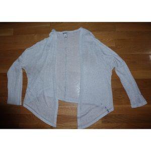 beige/cream lightweight cardigan